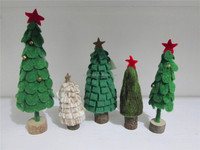 100% pure wool NEW fashion modern christmas trees home decoration