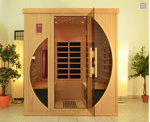 New relax fir far infrared sauna cabin korea