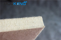 customized thick industrial white wool felt for polishing wheel and discs