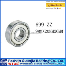 Bearing Supplier Hot Commodity 699ZZ Bearing