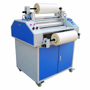 Thermal Roll Laminator Hot Glossy Laminating Machine Double Sided