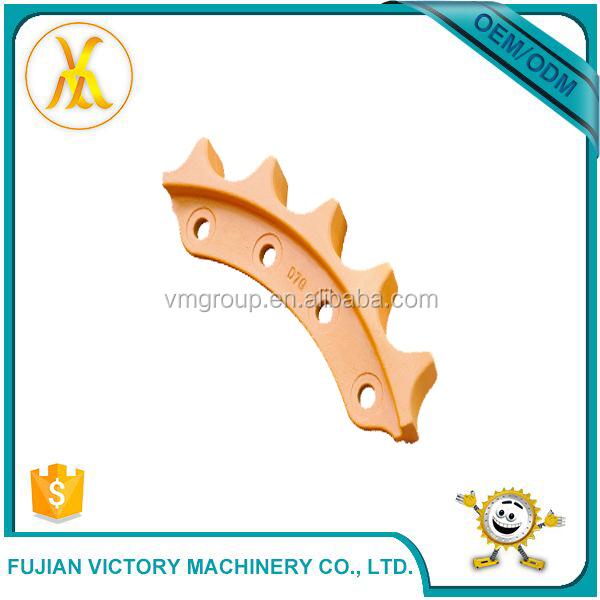Professional Customized Mechanical Spare Parts Sprocket Chain Segment Gear