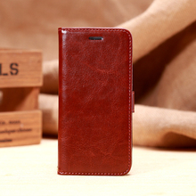 Good quality printing phone case fine sheep pattern phone shell flip leather holster for iphone 6