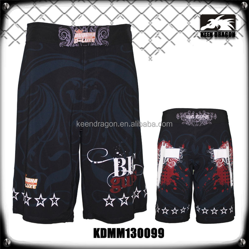 Wholesale New Spandex Keen Dragon Custom Blank Mma Fight Shorts