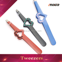 TW1264 professional cosmetic cotton dressing eyebrow hair removal tweezers