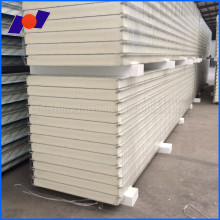 Cladding Insulation sandwich pu panel for freezer cold room