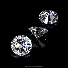 Round brilliant 1 carat to 5+ carats Gemstone Weight and Synthetic (lab created) Gemstone Type white moissanite diamond stone