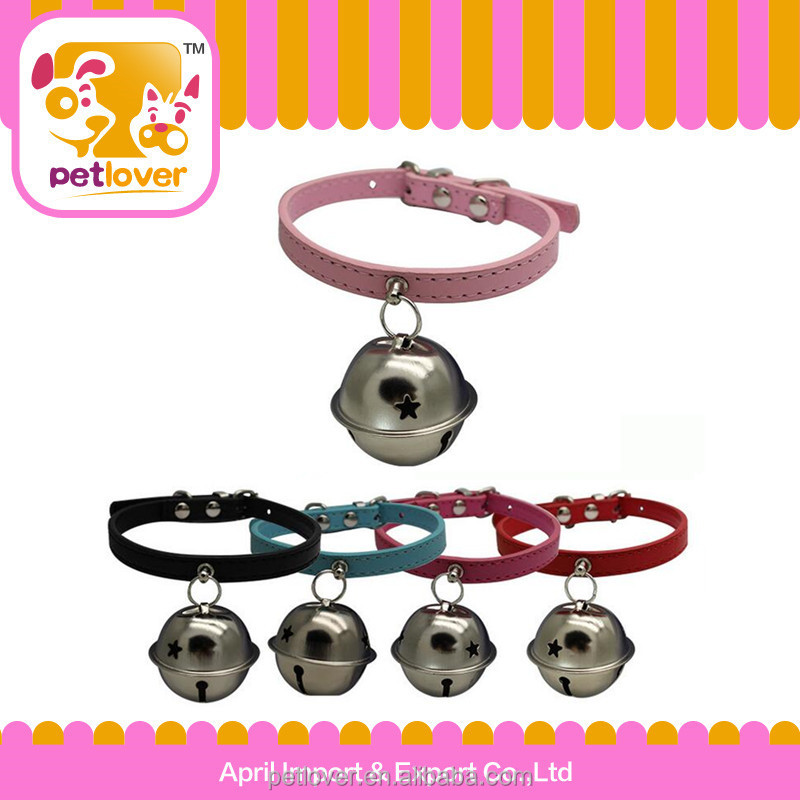 Pet collar and leashes type kitty collar wholesale with bell