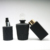 Wholesale empty matte black diffuser glass bottle round square diffuser bottle home decor
