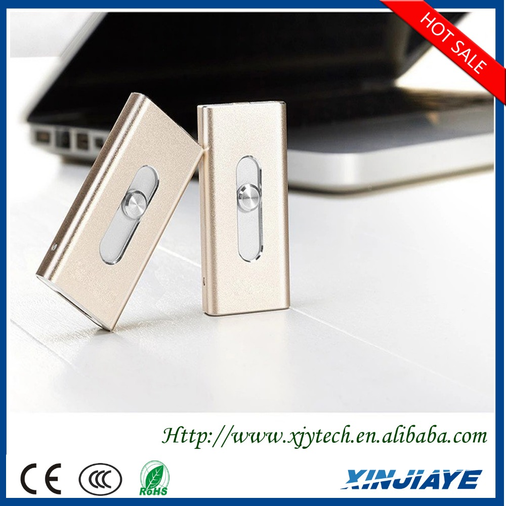 Fashionable High speed flash drive U disk device USB external storage for iphone 5s/6/6p/ipad