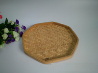 Mini wood chip woven snacks dried fruit tray
