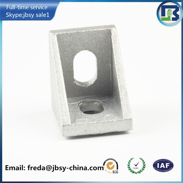 3D printer parts metal 90 degree angle bracket for V slot aluminum profile openbuilds machine parts