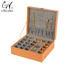 High quality leather cufflink box hot toys for christmas 2014