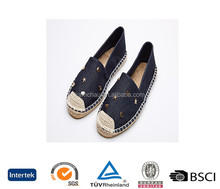 china professional factory top brand fashion handmade style silp on no lace low heel men navy blue loafers fiat shoes