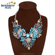 Female personality wild angle wing vintage fashion jewelry decoration crystal women collar