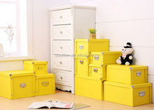 9colors in 10sizes perfect to organise packaging boxes silver handle container homes paperboard storage box