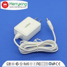 Factory price Free sample portable ac/dc adapter input 100-240V output 24v 0.5a 12w power supply with US plug