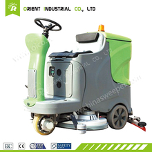 sidewalk scrubber electric cleaning vehicle