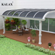 High quality balcony rain awnings canopy Aluminum patio awnings for window and door