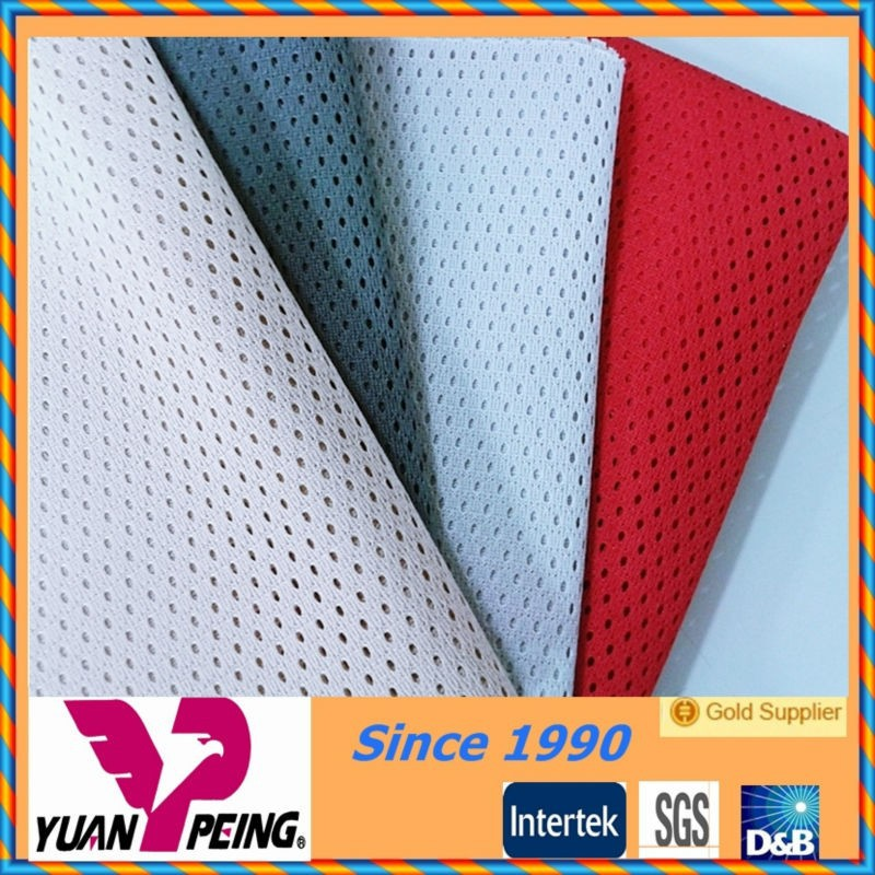 cheap polyester mesh tricot lining fabric