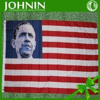 3*5feet screen print best quality obama flag