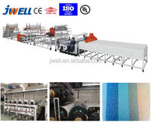 JWELL - Brown homogeneous pvc laminate flooring production line extruder making machine