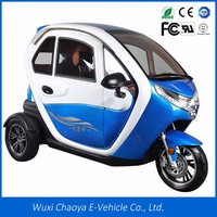 Hot sales EEC enclosed 3 wheel electric motorcycle for sale