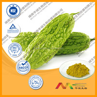 ISO&GMP Organic bitter melon extract powder