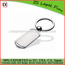 Blank metal keychains/ key chain with custom logo