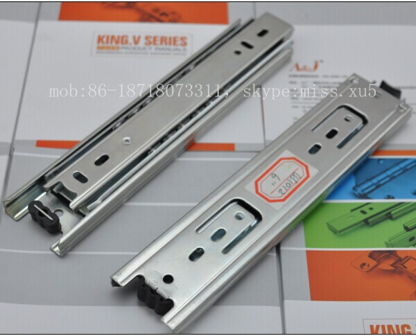 mini small 150mm cabinet drawer slide runner telescopic channel ball bearing slide