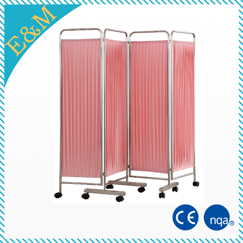 Hospital screen ward/Four Fold Hospital Folding Screen
