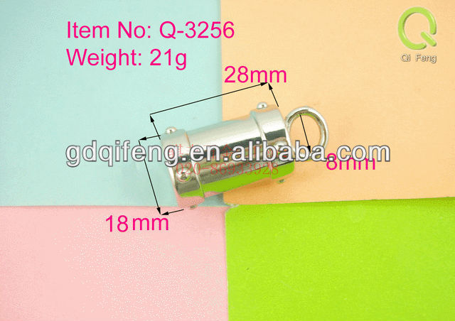 metal bag part and accessries , handle leather bag parts q-3256