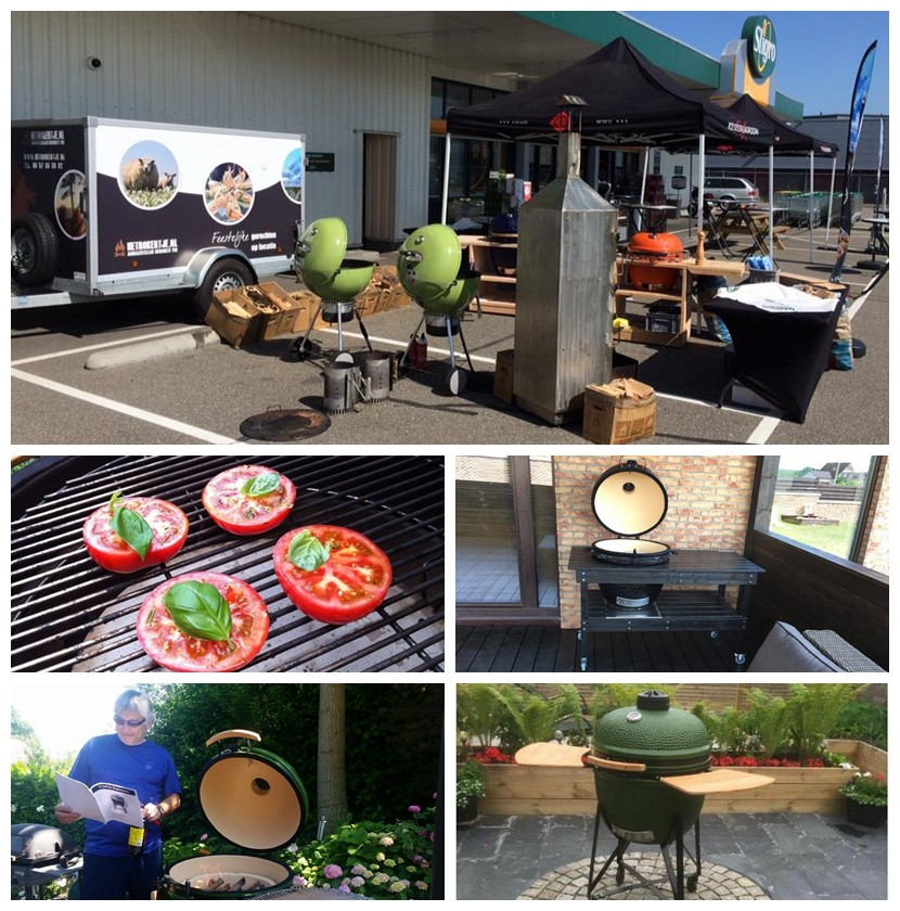 "China factory hot sell portable barbecue 25"" inch charcoal outdoor grill ceramic table kamado"