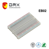 Smart Bes Half-size Breadboard(4.55 cm x 3.5 cmx 0.83 cm) 400 Tie Points,solderless breadboard and electronic breadboards