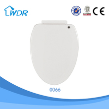 Sanitary chinese wholesale wc ware D shape PP toilet seat for disabled