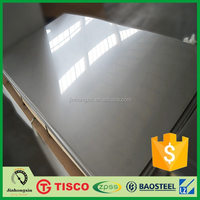 2B aisi 316l stainless steel raw materials used for construction