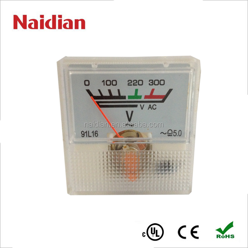 91L16-300VAC Single Diode Meter