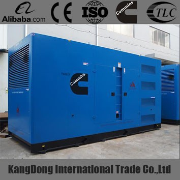 Promotion!500Kw soundproof natural gas generator with CHP system