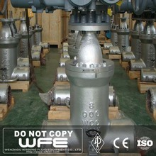 "WFE API WCC 8"" inch 900LB Butt Welded Pressure Seal Gear Operation Gate Valve"
