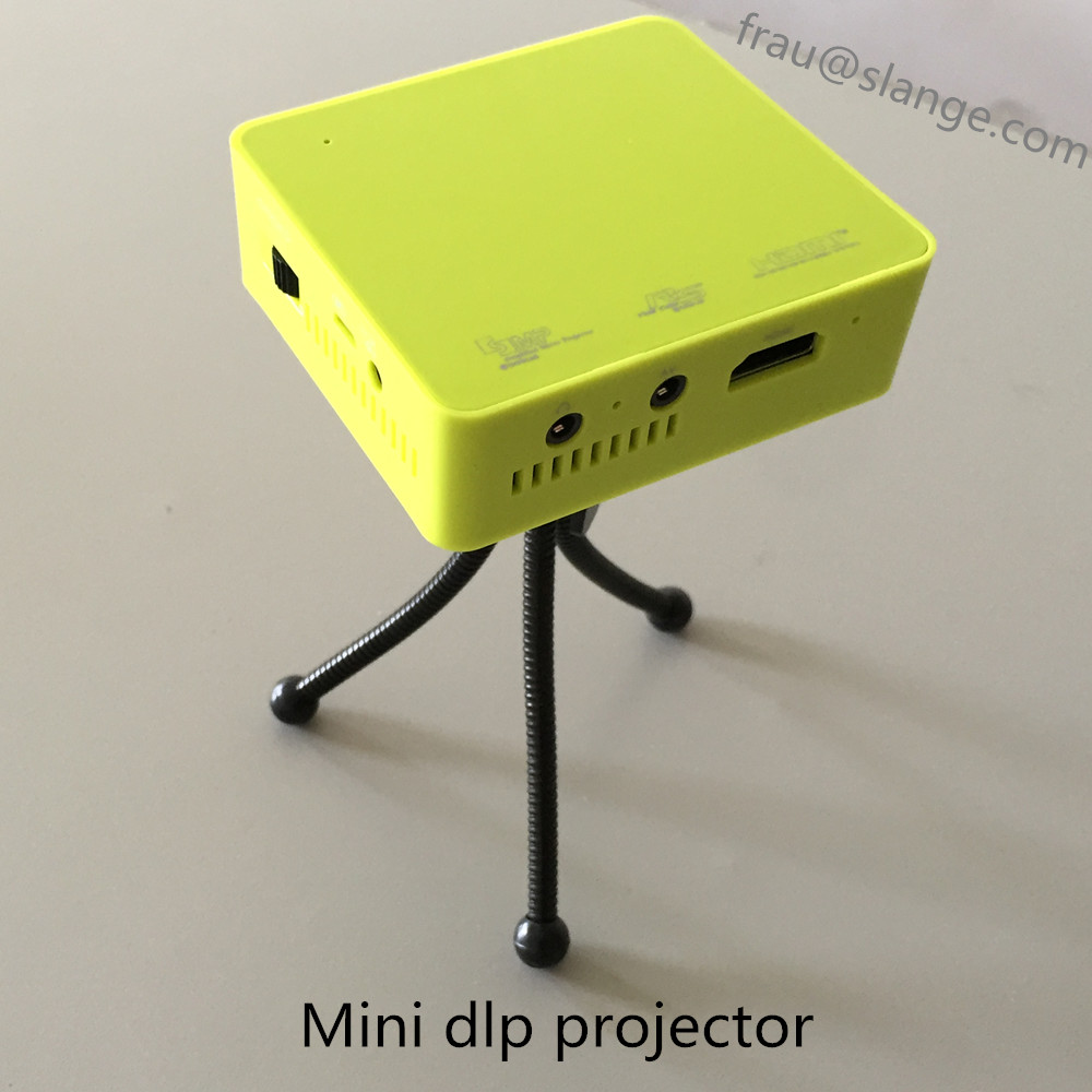 High quality new arrival entertainment dlp mini projector for High resolution pocket projector