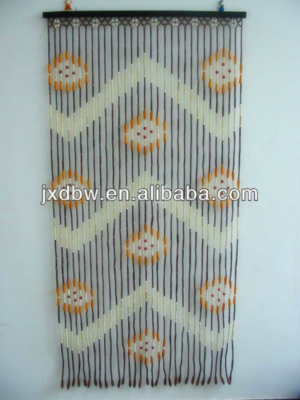 Ready Made Decoration Handmade Bamboo Curtain For Door