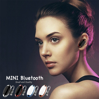 New 2016 Mini Universal Wireless Bluetooth 4.0 Bluetooth Headset Hige Quality for all Bluetooth phone