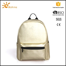 High quality waterproof material pu backpack bag