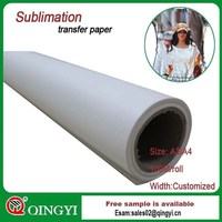 2015 wholesale sublimation paper in rolls