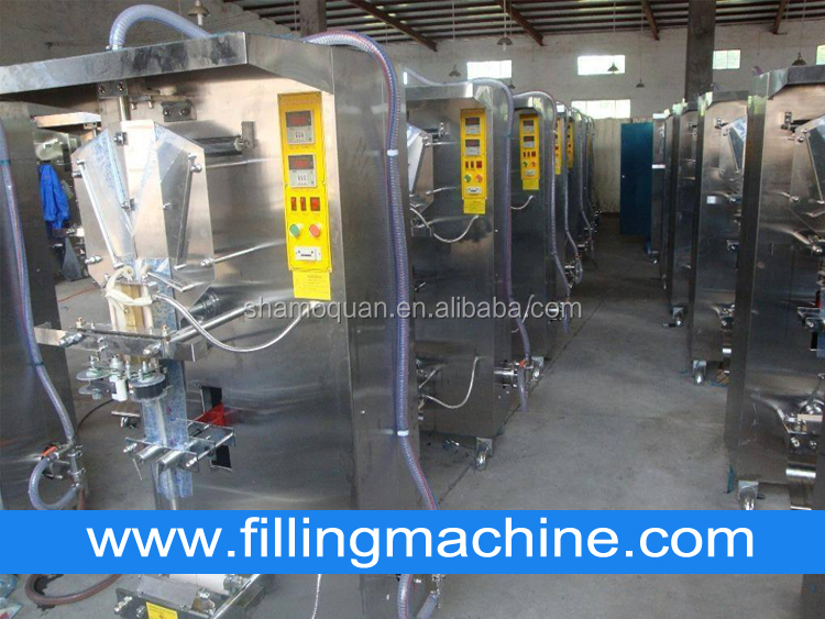 Manufacturer Price Automatic Vertical Small-Scale Plastic Pouch Bag Liquid Sachet Packaging Machine