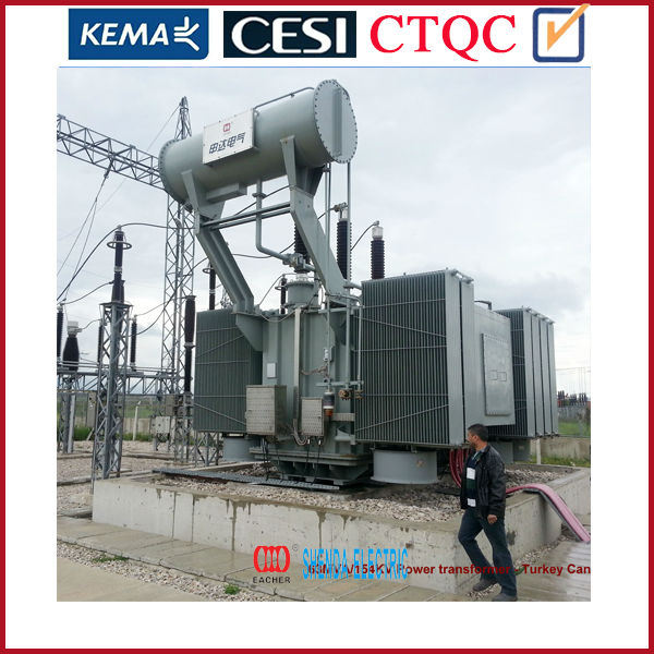 15mva Step down Transformer from china factory with certificate