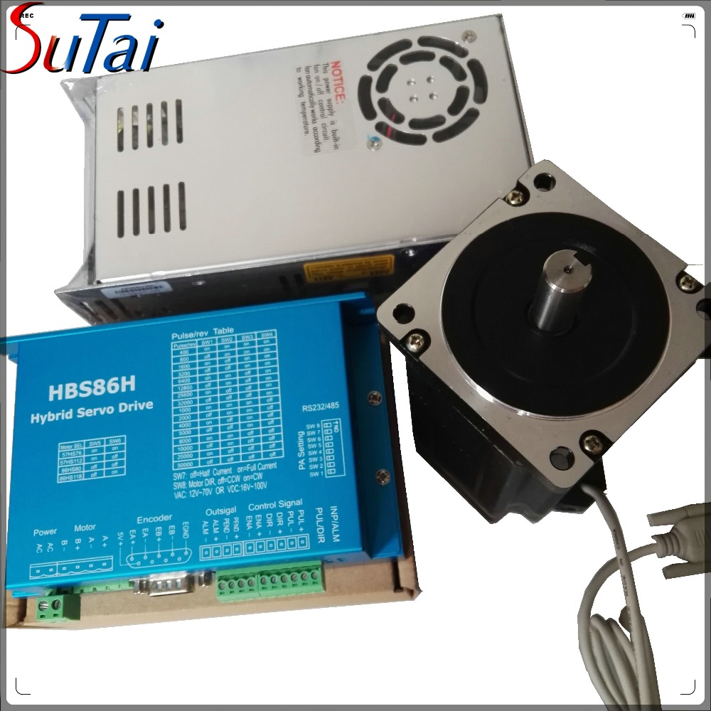 4.5N.m hybrid closed-loop stepper motor HBS86H+86HSS811with encoder 1000line