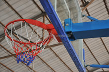 several color steel basketball ring