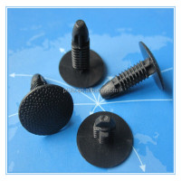 plastic Black retaining car clip