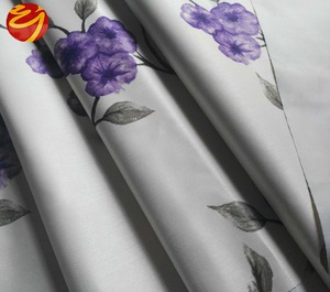 280cm wide width 100% polyester jacquard blackout roller blind fabric/white plain blackout curtains cotton organic